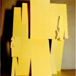 Folding (fractal) - 1968 - 60x40cm - painted carton