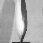 3D. Form study - 1964-65 - 60x30x17cm - plaster