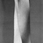 3D. Form study - 1964-65 - 45x12x12cm - plaster