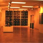 Mengyán's exhibition in Gallery Józsefváros, Budapet, (H) - 1976