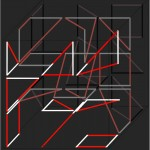 Logic of forms in 3D. matrix I-III. - 1974 - 60x60cm/pc. - serigraphy