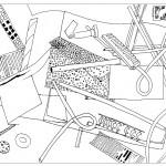 Study  - 1964-65 - 47.5x32.5cm - tint drawing