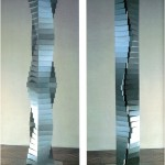Twisted column - 1968-69 - 136x17x22.5cm - aluminum