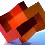 Embracing forms - 1968-69 - 50x40x25cm - painted PVC