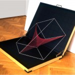 Broken dimension, more than 2D. (Coffer) - 1979-84 - 70x64x8cm - wood, rubber, acrylic