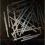6D. broken line - 1988 - 200x140cm - canvas, acrylic