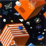 Position pictures I_IV. - 1987 - 180x180cm/pc. - canvas, acrylic