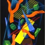 Frozen happiness - 1992 - 200x140cm - canvas, acrylic