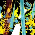 Memento - 1992 - 420x200cm - canvas, acrylic