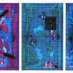 Interactive spaces I-III. (Influences-Norway) - 1995 - 60x16.7x7.75m -  Computer-programmed multimedia