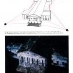 Transformation the building of the Palace of Art  (Műcsarnok) into Sea - 1995 - 125x55x18m - 4pc. 35mm movie projector