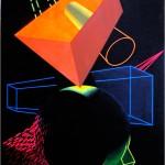 Sensitive balance - 1998 - 120x90cm - canvas, acrylic