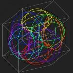 4D. sphere - 1998 - 120x120cm - canvas, acrylic