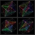 4D. triangle 1-8. - 2010 - 40x40cm - print