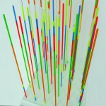 Color organ - 2005 - 69x45.5x45.5cm - painted glass