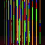 Color organ - 2012 - 200x140cm - acrylic, canvas