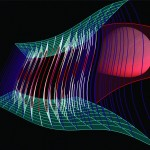 Title: Interactions VI-VII. - 2010 - 100x90cm - acrylic, canvas