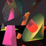 Interactions I.  - 2006 - 250x200cm - acrylic, canvas