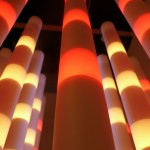 Title: Programmable LED sculpture - 1984-2009 - 60x52x52cm - plexiglass, painted wood, LED, DMX
