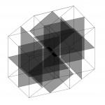 4D. Square - 2015 - 100x100cm - acrylic, canvas